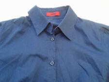 """HUGO BOSS DAMEN Bluse """"ETRIXE"""" Gr.34 in dunkelblau (blau)-TOP ZUSTAND- KLASSIKER"""