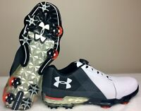 New Under Armour Mens Spieth 2 BOA Golf Shoes Cleats 3000214 100 Men's Size 9