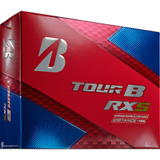 New Bridgestone Tour B RXS White Golf Balls, 1 Dozen (12 Total) - Free Shipping