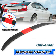 Universal Adjustable Rear Trunk Spoiler Wing ABS  For Benz BMW Audi Toyota