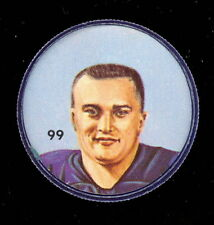 1963 CFL NALLEY'S POTATO FOOTBALL SP COIN #99 NEIL THOMAS WINNIPEG BLUE BOMBERS