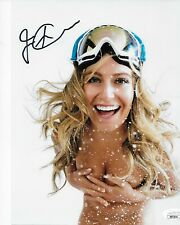 Autographed Jamie Anderson signed ESPN Body Issue 8x10 photo JSA certified 2