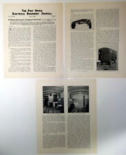 Post Office A Mobile Automatic Telephone Exchange Trailer Vintage 1939 Article