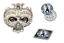 Michael Jackson - Black or White Colorized JFK Kennedy Half Dollar Coin