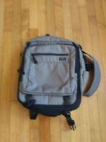 LL Bean Traveler Shoulder Messenger Bag Backpack Case Carry-on Laptop Courier