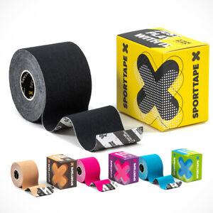 SPORTTAPE Kinesiology Sports Tape - 5m Roll   Physio & Sports Injury Muscle Tape