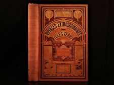 1881 Jules Verne A Captain at Fifteen Dick Sand SLAVERY Africa Voyages Hetzel