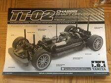 tamiya tt-02 chassis only