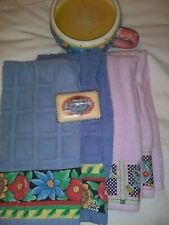 Mary Engelbreit Lot of 6, candle, soap, towels