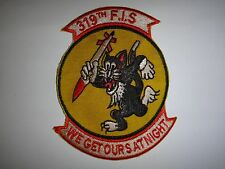 Korea War (1950-53) US Air Force 319th FIGHTER INTERCEPTOR SQUADRON Patch