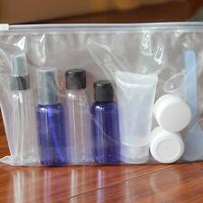 Clear Transparent Plastic PVC Travel Cosmetic Make Up Toiletry Zipper Bag New CZ