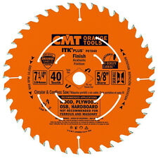 "CMT P07040-x10 ITK Plus Finish Saw Blade Masterpack 7-1/4"" 40 Teeth 10° -10 Pack"