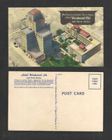 1950s HOTEL WESTWARD HO AND PATIO SUITES PHOENIX ARIZONA POSTCARD