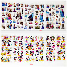 Mickey 3D Children cartoon Stereoscopic puffy Stickers Lot Of 12sheets kids gift
