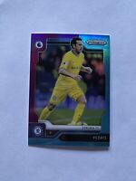 2019-20 Panini Prizm Premier League Pedro Chelsea Multicolor Prizm Card #32