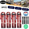 4x 7.4V 5000mAh 60C 2S LiPo Battery Deans for RC Car Truck Boat Drone Helicopter