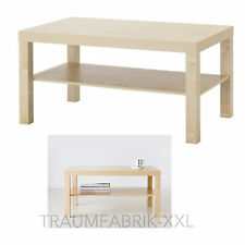 IKEA WAX Coffee Table 90x55 CM Living Room Birch Tree Drop Lounge NEW