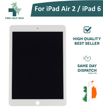 For Apple iPad Air 2 / iPad 6 LCD Touch Screen Display Digitizer Assembly White