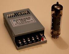 BLOC DE CHAUFFAGE POLYVALENT 4 V- 5V- 6,3 V / 4 A REGULE POUR TUBES RADIO/ AUDIO