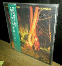 rare 1980 ECHO and the BUNNYMEN crocodiles SEALED JAPAN LP obi TOP COPY cure xtc
