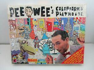 VINTAGE 1987 PEE WEE HERMAN COLORFORMS PLAYHOUSE DELUXE SET FACTORY SEALED
