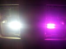 "2 x Purple 31mm LED 1.25"" 6428 3175 6SMD Dome Wedge Festoon Interior Light Bulbs"