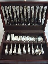 Quadrille by Kirk Sterling Silver Flatware Set 60 Pieces Beautiful!