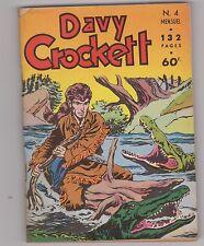 Davy Crockett n°4 - Novembre 1956. Editions LUG. Superbe état