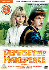 Dempsey and Makepeace - Series 3 - Complete (DVD, 2006, 3-Disc Set) NEW