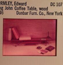 "Edward Wormley ""Long John Coffee Table 1946"" 35mm Modern Furniture Design Slide"