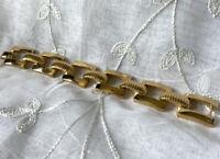 HEAVY Vintage Christian Dior Statement Bracelet
