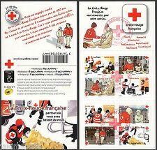 Carnet BC 1270 Croix Rouge en action de 2016 obli 1er jour non plié LUXE