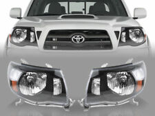 DEPO JDM Pair of OE TRD Style Black Headlights For 2005-2011 Toyota Tacoma