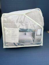 PROJECT 62 + NATE BERKUS Border Stitch Flannel Duvet Set ~ King ~ Gray