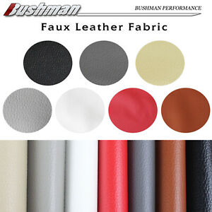 Faux Leather Waterproof Fabric Reupholstery Seat Sofa Furniture Cover Craft DIY