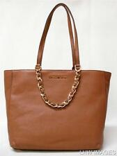 NWT MICHAEL KORS HARPER SIG LARGE EAST WEST LEATHER TOTE LUGGAGE 30H3GRPT7L
