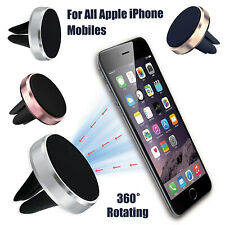 Universal Holder Magnetic Air Vent Mobile Phone Mount Car Dashboard For iPhone