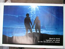 Vintage HAND IN HAND Poster Nude Hippie Naked Love Peace PP-701 AA Sales Inc.