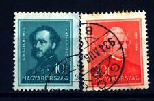 HUNGARY - UNGHERIA - 1932 - Conte István Széchenyi (1791 - 1860), statista - Fra