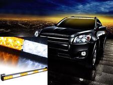 "White&Amber 31.5"" Emergency Warning Traffic Advisor Vehicle Strobe Lights Bar-1"
