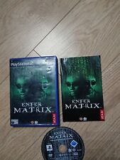 Enter The Matrix Sony PlayStation 2 (PS2) PAL (Europe) version