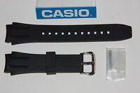 Casio Original New MTP-1326 Watch Band Black Rubber Bnad W/ 2 Pins MTP1326
