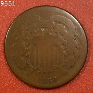 1869 Two-Cent Piece *Free S/H After 1st Item*