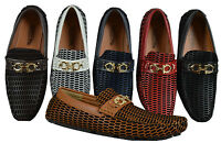 Men's Giovanni Casual Shoes Driving Moccasin Prom Formal Slip On Dress M788-54