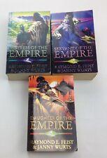 Mistress of the Empire/Servant of the Empire/Daughter of the Empire 3 books