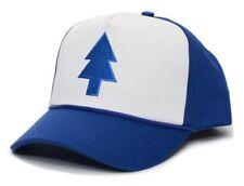 CARTOON BASEBALL CAP [DIPPER BLUE PINE TREE] MOVIE CURVED SNAPBACK KAPPE MÜTZE H