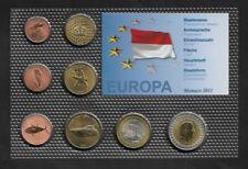 Monaco 2011 Proben Satz, Essai-Pattern, 1 Cent - 2 Euro, OVP, NEU, SELTEN