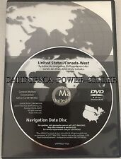 GM General Motors Cadillac Navigation Disk CD DVD 25979939u 8.00 WEST
