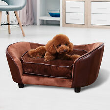 PawHut Pet Sofa Chair Bed Indoor Dog Cat Puppy Cushion Couch Large House Lounger