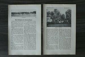 5 Blatt Kamerun 1905/06 Kirchhoff Krüger Kolonie Afrika Abb Zeitschrift Artikel